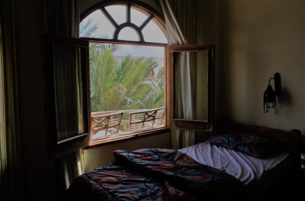 Offenes Fenster